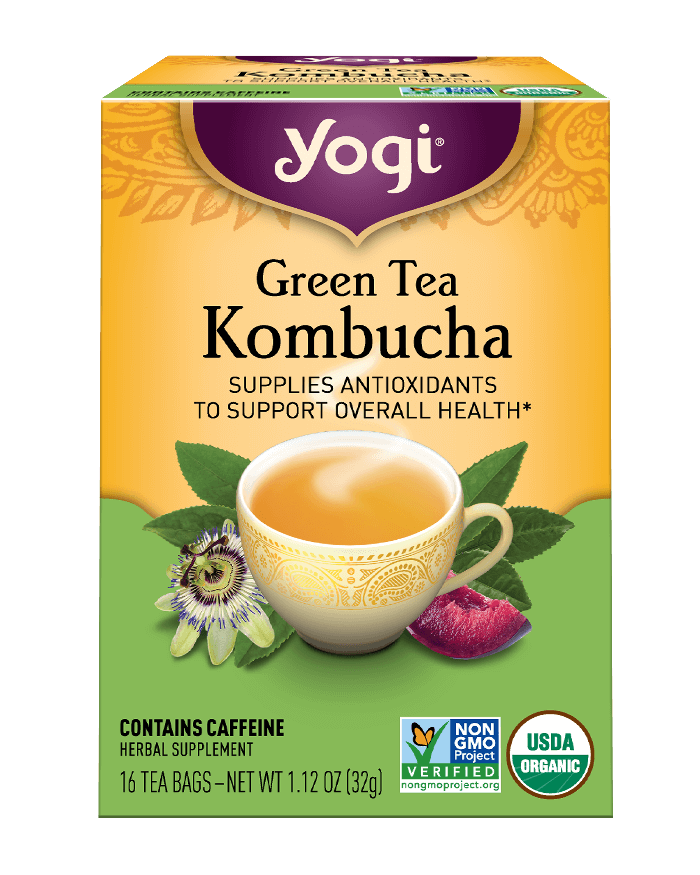 Green Tea <br />Kombucha Tea
