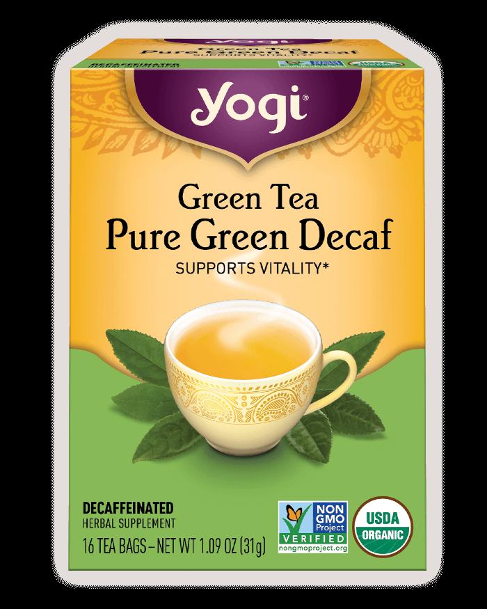 Green Tea Pure <br />Green Decaf Tea