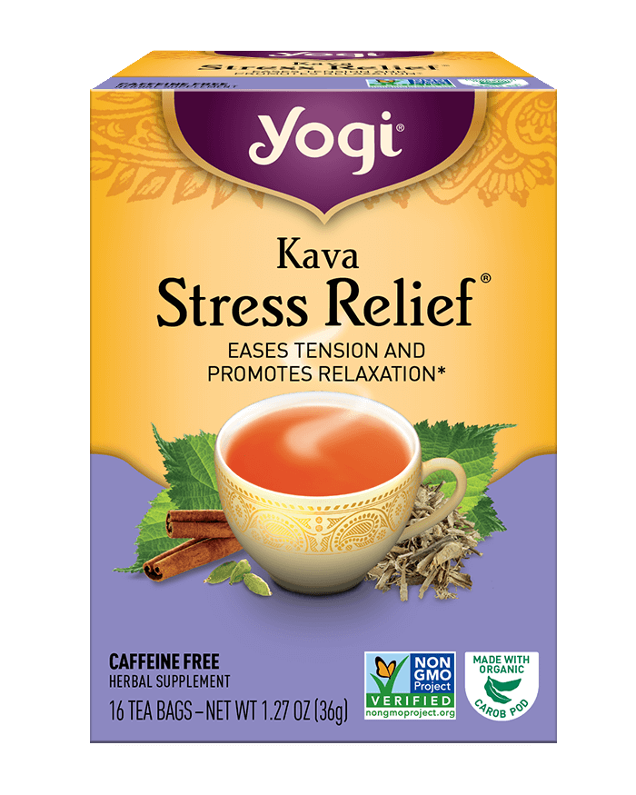 Kava <br />Stress Relief<sup>®</sup> Tea