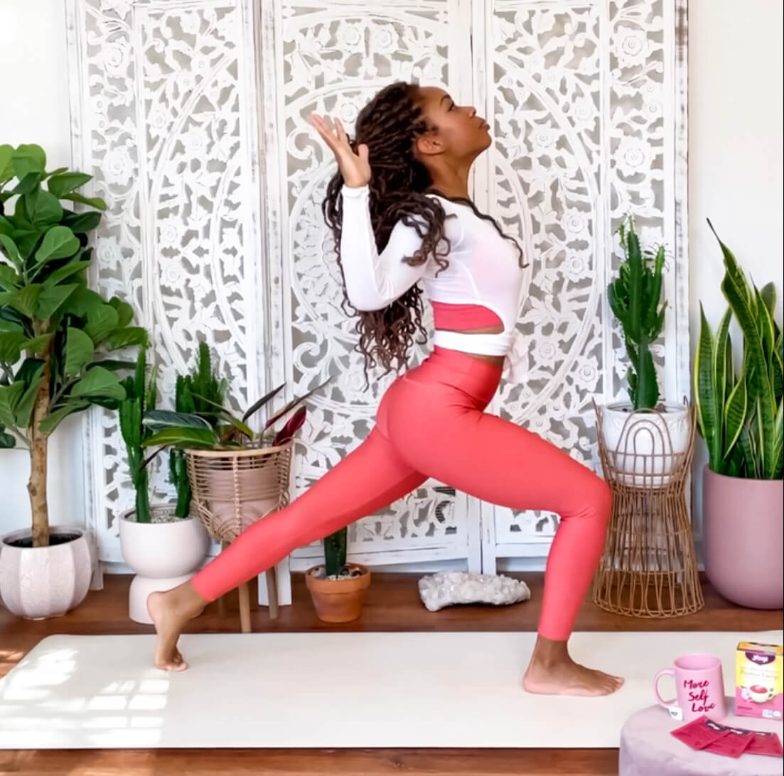 Energize Your Body and Mind with this Energizing Yoga Flow | Yogi Tea
